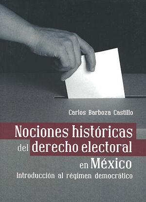NOCIONES HISTÓRICAS DEL DERECHO ELECTORAL EN MÉXICO