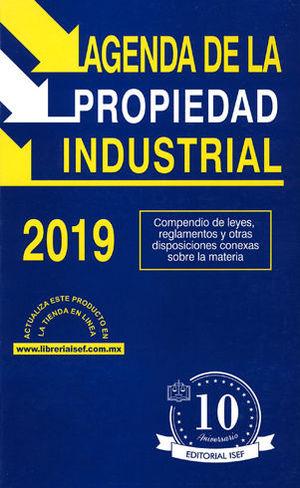 AGENDA DE LA PROPIEDAD INDUSTRIAL 2019