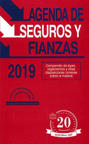 AGENDA DE SEGUROS Y FIANZAS 2019
