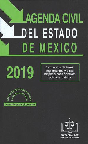 AGENDA CIVIL DEL ESTADO DE MÉXICO 2019