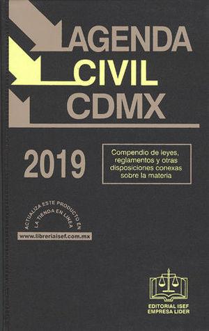 AGENDA CIVIL CDMX 2019