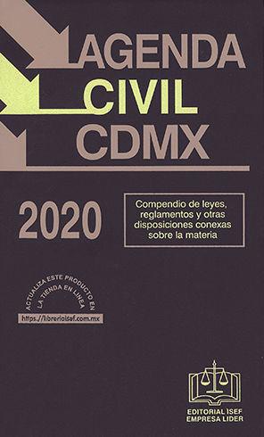 AGENDA CIVIL CDMX 2020
