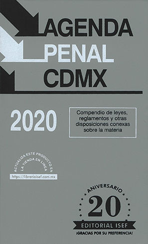 AGENDA PENAL CDMX 2020