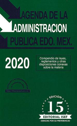AGENDA DE LA ADMINISTRACIÓN PÚBLICA EDO. MEX. 2020