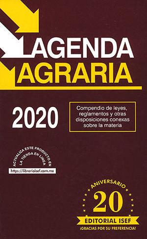 AGENDA AGRARIA 2020