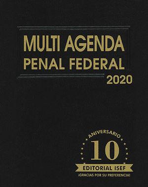 MULTI AGENDA PENAL FEDERAL 2020