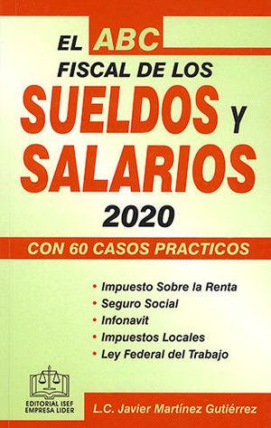 ABC FISCAL DE LOS SUELDOS Y SALARIOS 2020