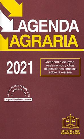 AGENDA AGRARIA - 30ª ED. - 2021