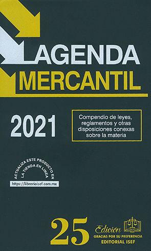 AGENDA MERCANTIL - 51ª ED. 2021