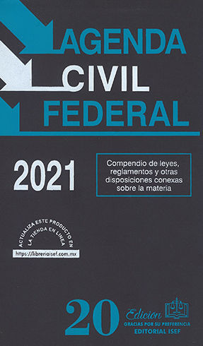AGENDA CIVIL FEDERAL - 31ª ED. 2021