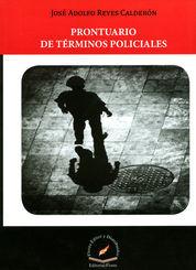 PRONTUARIO DE TERMINOS POLICIALES