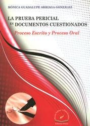 PRUEBA PERICIAL EN DOCUMENTOS CUESTIONADOS