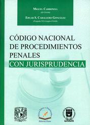 CÓDIGO NACIONAL DE PROCEDIMIENTOS PENALES CON JURISPRUDENCIA