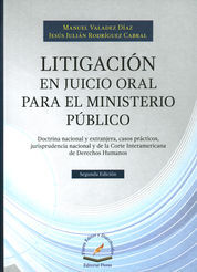 LITIGACION EN JUICIO ORAL PARA EL MINISTERIO PUBLICO