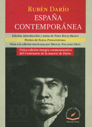 RUBÉN DARÍO, ESPAÑA CONTEMPORANEA