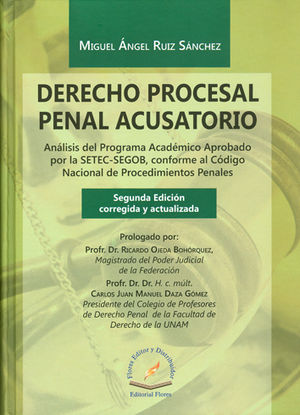 DERECHO PROCESAL PENAL ACUSATORIO