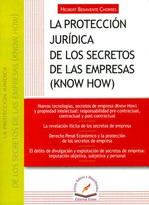 PROTECCIÓN JURÍDICA DE LOS SECRETOS DE LAS EMPRESAS ( KNOW HOW), LA