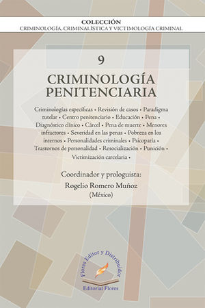 CRIMINOLOGÍA PENITENCIARIA VOL.9