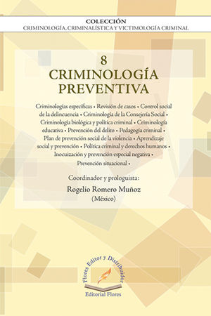 CRIMINOLOGIA PREVENTIVA VOL.8