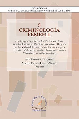 CRIMINOLOGIA FEMENIL VOL.5