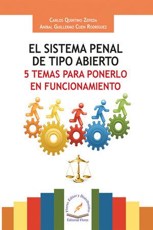 SISTEMA PENAL DE TIPO ABIERTO, EL