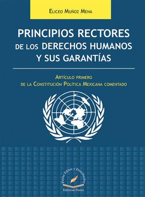 PRINCIPIOS RECTORES DE LOS DERECHOS HUMANOS Y SUS GARANTÍAS