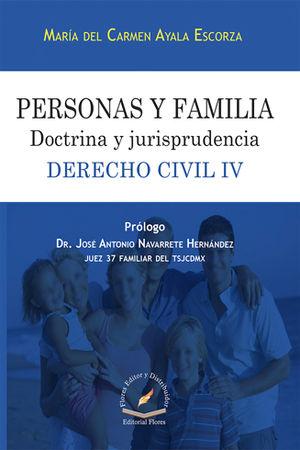 DERECHO CIVIL # 4 - PERSONAS Y FAMILIA