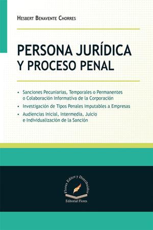 PERSONA JURÍDICA Y PROCESO PENAL
