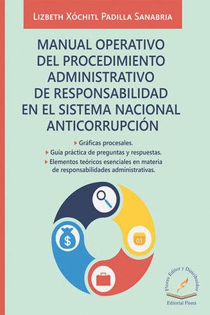 MANUAL OPERATIVO DEL PROCEDIMIENTO ADMINISTRATIVO DE RESPONSABILIDAD EN EL SISTEMA NACIONAL ANTICORRUPCIÓN