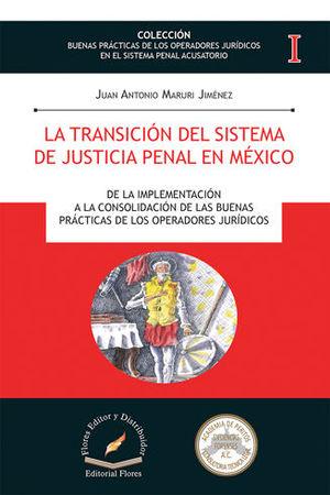 TRANSICIÓN DEL SISTEMA DE JUSTICIA PENAL EN MÉXICO, LA