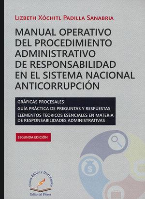 MANUAL OPERATIVO DEL PROCEDIMIENTO ADMINISTRATIVO DE RESPONSABILIDAD EN EL SISTEMA NACIONAL ANTICORRUPCIÓN. SEGUNDA EDICIÓN