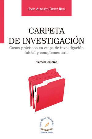CARPETA DE INVESTIGACIÓN