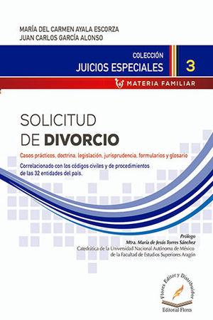 SOLICITUD DE DIVORCIO # 3