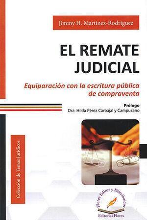 REMATE JUDICIAL, EL