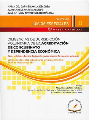 DILIGENCIAS DE JURISDICCIÓN VOLUNTARIA DE LA ACREDITACIÓN DE CONCUBINATO Y DEPENDENCIA ECONÓMICA # 8