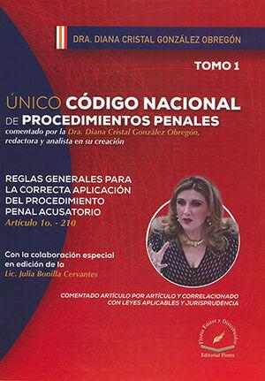ÚNICO CÓDIGO NACIONAL DE PROCEDIMIENTOS PENALES - 3 TOMOS