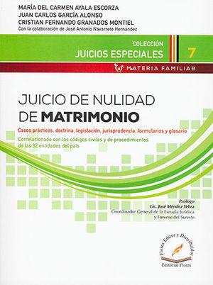 JUICIO DE NULIDAD DE MATRIMONIO # 7