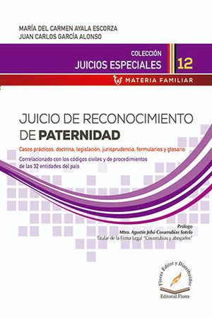 JUICIO DE RECONOCIMIENTO DE PATERNIDAD # 12