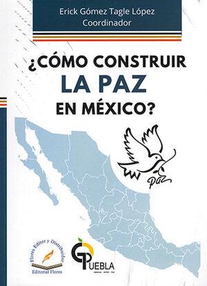 CÓMO CONSTRUIR LA PAZ EN MÉXICO?