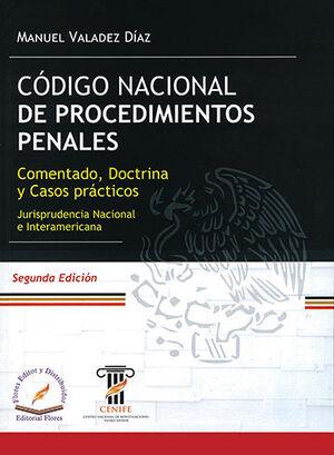 CÓDIGO NACIONAL DE PROCEDIMIENTOS PENALES COMENTADO 2ª ED. 2021
