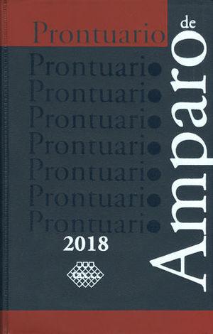 PRONTUARIO DE AMPARO. 2018