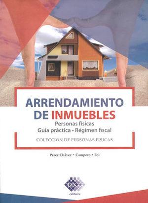 ARRENDAMIENTO DE INMUEBLES (PERSONAS FÍSICAS). 2019