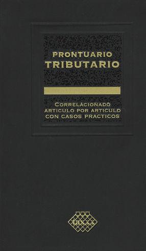 PRONTUARIO TRIBUTARIO PROFESIONAL. 2019