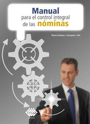 MANUAL PARA EL CONTROL INTEGRAL DE LAS NÓMINAS (2020)