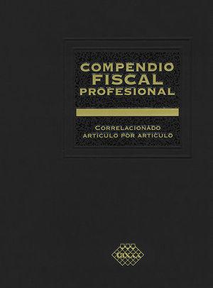 COMPENDIO FISCAL PROFESIONAL 2 TOMOS 2020