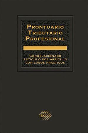 PRONTUARIO TRIBUTARIO PROFESIONAL (2020)