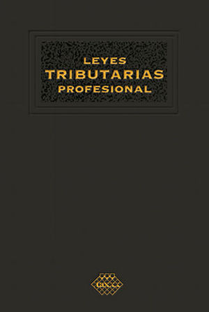 LEYES TRIBUTARIAS PROFESIONAL (2020)
