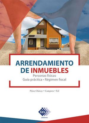 ARRENDAMIENTO DE INMUEBLES (PERSONAS FÍSICAS) - (2020)