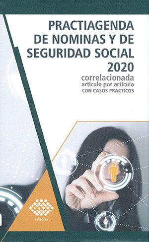 PRACTIAGENDA DE NÓMINAS Y DE SEGURIDAD SOCIAL 2020