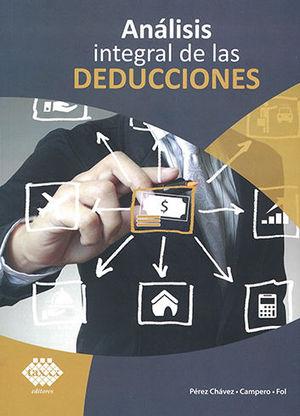 ANÁLISIS INTEGRAL DE LAS DEDUCCIONES